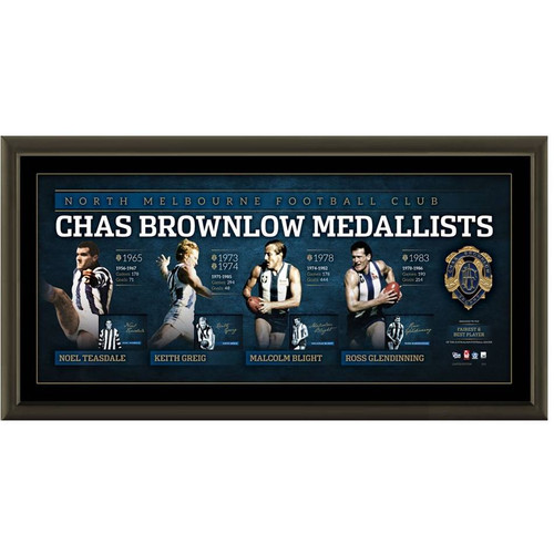 Chas Brownlow North Melbourne Medalists