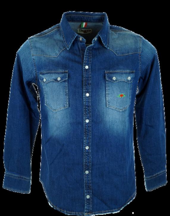 Camicia jeans Ontario