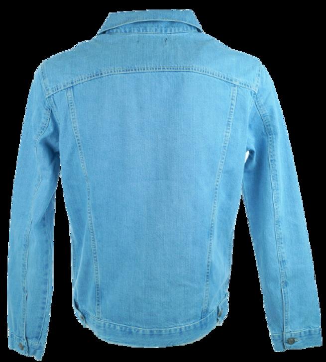 Jacket jeans stone wash