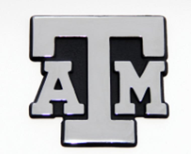 Auto Emblem Classic ATM Chrome Block
