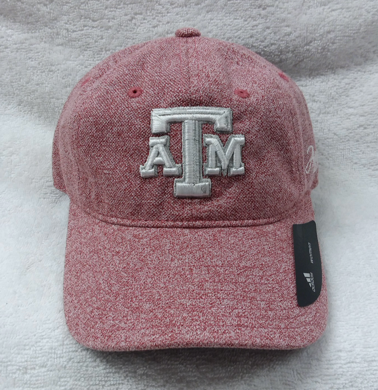 Texas A&M Adidas Faded Red Women's Hat With Fully Adjustable Back
