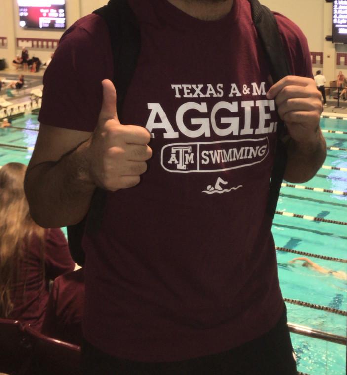 Aggie Swimming T-Shirt