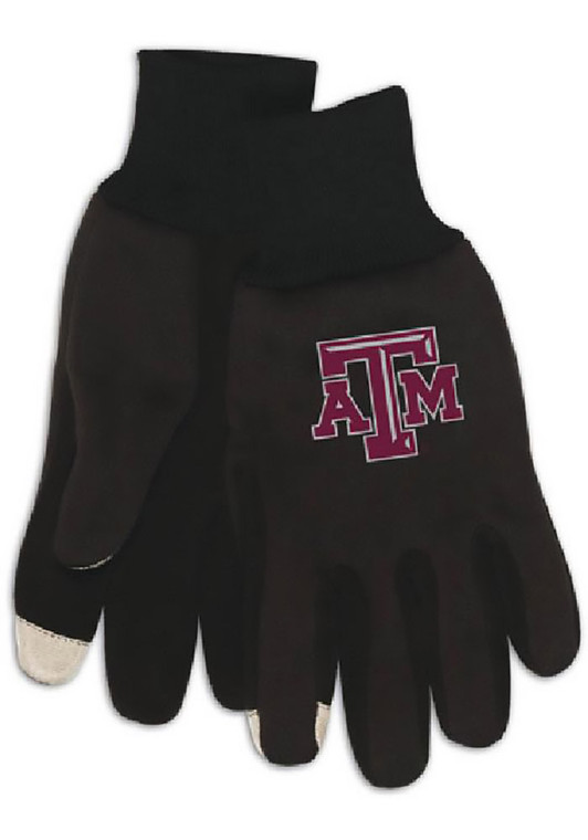 Texas A&M technology gloves let you use your touch-screen phone or tablet in the cold while keeping your hands warm!