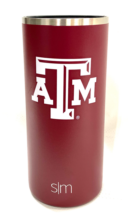 Insulated Slim Can Holder-Texas A&M