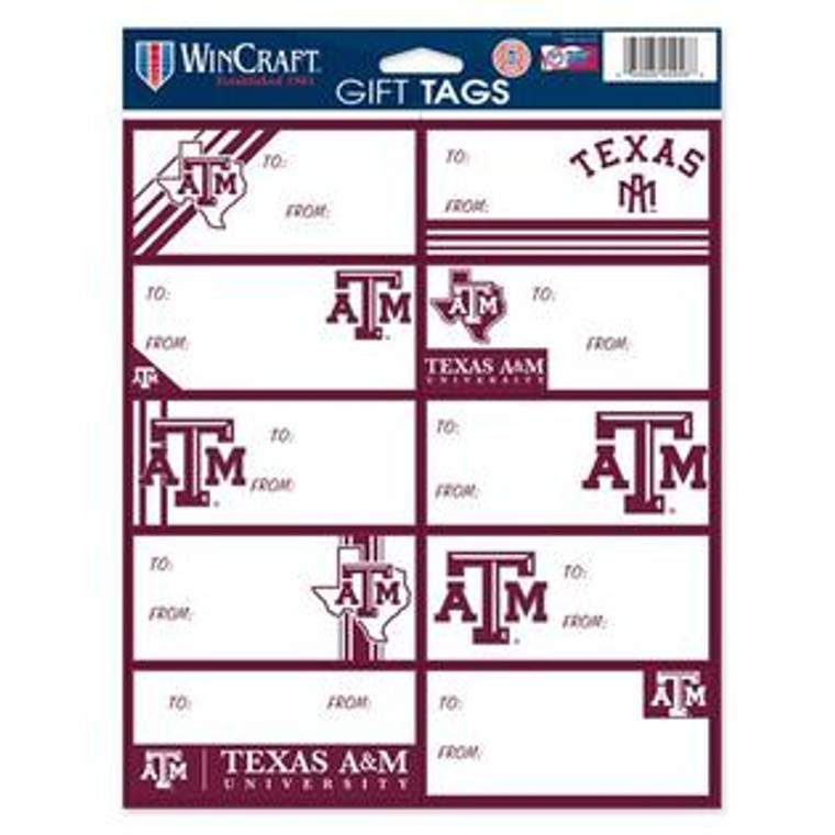 Gifting to an Aggie? Label your package with Aggie Pride!
