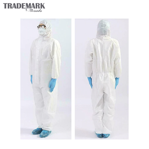 The Disposable Hooded Protective Coverall