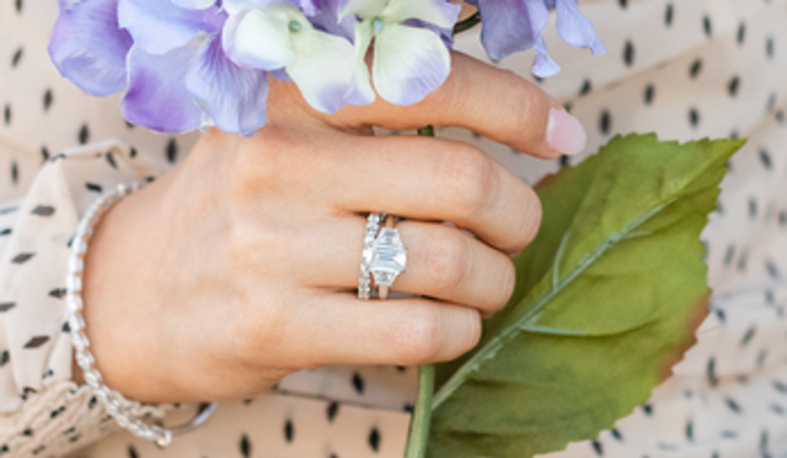The Classic Beauty of Emerald Cut Diamond Engagement Rings