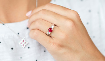 The Story Behind July's Birthstone: The Ruby
