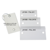 Plastic Covers for Key Tags