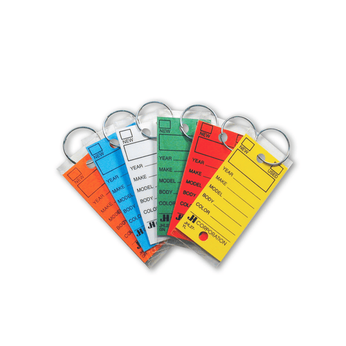 Fold Over Key Tags