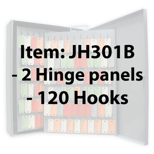 Key Cabinet - Lund 120 Hook Removable Panel
