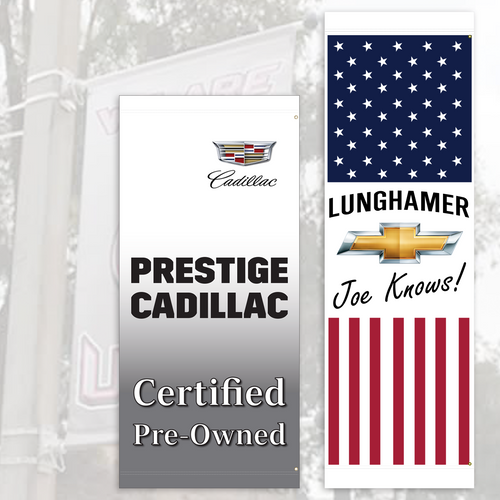 Custom Vinyl Pole Banners