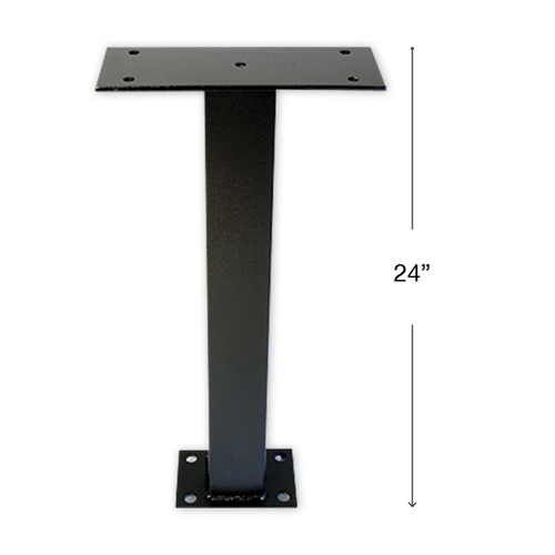 Self Contained Drop Box Surface Mount Pedestal Post