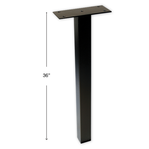 Self Contained Drop Box in-ground Pedestal Post