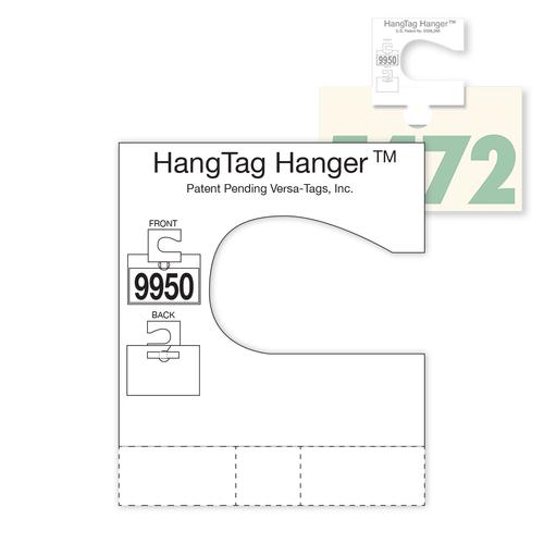 Service Hang Tag Hanger