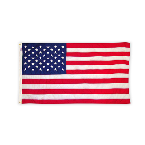 Nylon Burial Flag with Standard Stars