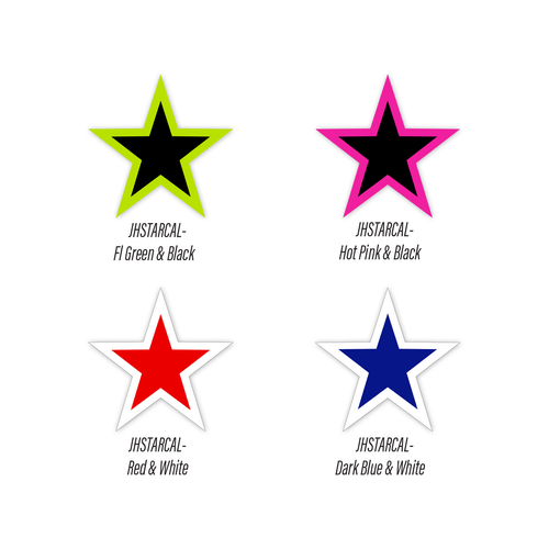 Windshield Star Decals