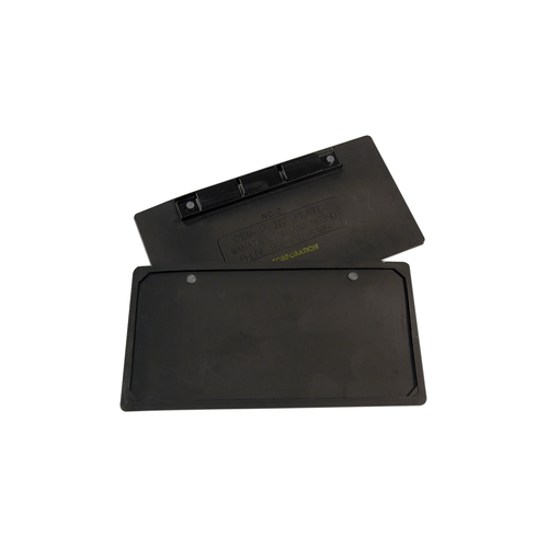 Rubber Encased magnetic bar license plate holder