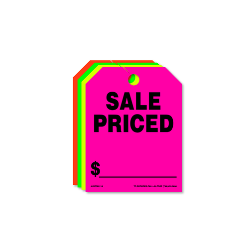 Sale Priced Rear View Mirror Hang Tags