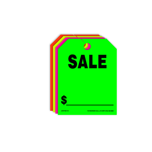 Sale Rear View Mirror Hang Tags