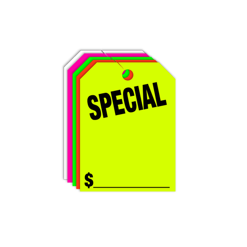 Special Rear View Mirror Hang Tags