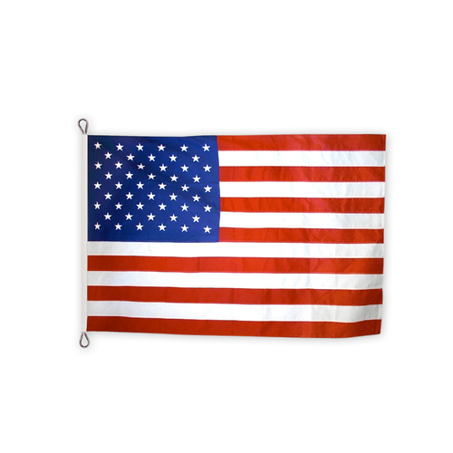 USA nylon flag with thimbles