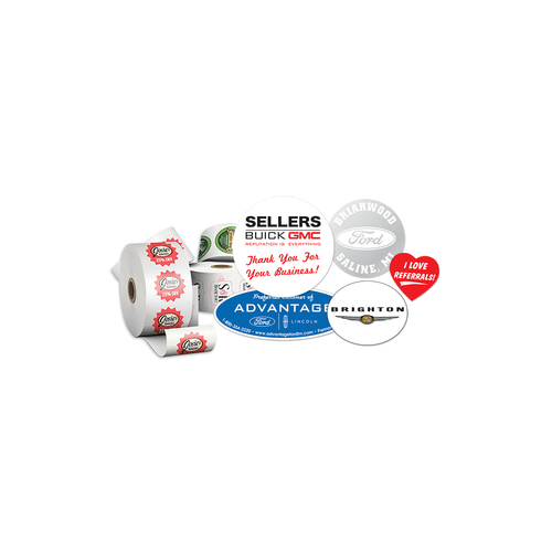 Roll Label decals
