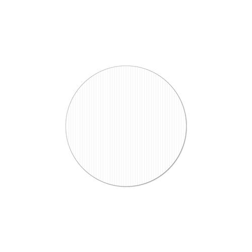 Round Corrugated Plastic  sign blank