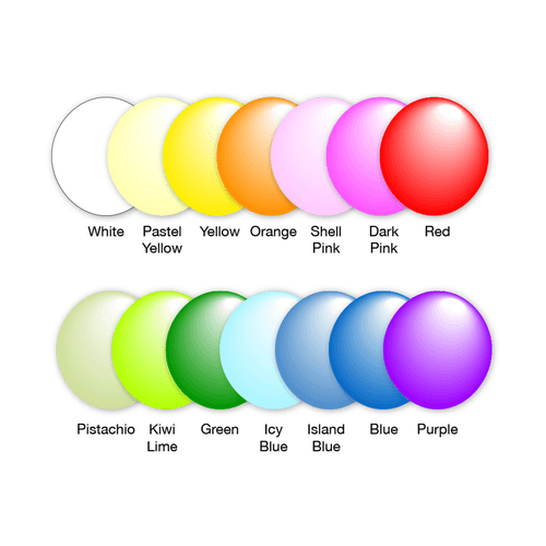Giant cloud Buster balloon kit balloon colors