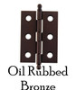 Oil Rubbed Bronze cabinet hinge