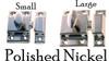 Nickel Cupboard Latch
