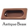 Antique Brass Flush Window Sash Lift