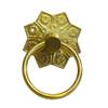 Brass Eastlake Ring Pull