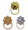Eastlake Ring Pull in Brass, Antique Brass or Nickel