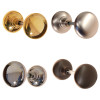 Antique Reproduction Solid Core Door Knobs in Brass, Nickel, Brushed Nickel or Oil Rubbed Bronze