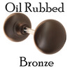 Oil Rubbed Bronze Antique Reproduction Solid Core Door Knobs