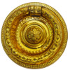 Brass Colonial Revival Ring Pull