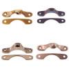 Narrow Window Lock Strike in Brass, Nickel, Brushed Nickel or Oil Rubbed Bronze