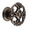 Antique Brass Victorian Cast Brass Knob