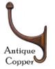 Antique Copper Coat Hook