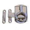 Nickel Cabinet Latch w/ Ring Pull