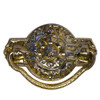 Brass Colonial Revival hepplewhite Pull
