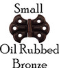 Oil Rubbed Bronze Butterfly Hinge