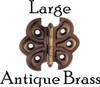 Antique Brass Butterfly Hinge