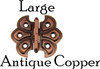 Antique Copper Butterfly Hinge