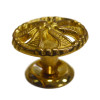 "1.5"" Brass Decorative Victorian Knob"