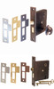 Mortise Lock with Thumb Turn Mortise Lock with Keyed Lock