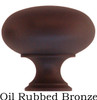 Oil Rubbed Bronze Round Furniture or Cabinet Knob