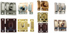 Heavy Duty Cabinet Latch in Brass, Antique Brass, Nickel, Brushed Nickel or Oil Rubbed Bronze