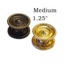 Medium Brass or Antique Brass Sheraton Knobs